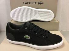 Baskets Ebay Lacoste Sur Pour HommeAchetez Noires Ybgyf76