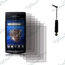 6x Pellicole protettive stilo dello schermo Sony Xperia Arc X12 Lt15i LT18a
