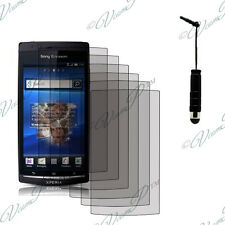 6x Protective Films protective screen stylus Sony Xperia Arc X12 Lt15i LT18a
