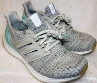 Adidas Ultra Boost Womens DB3212 Carbon Clear Mint Primeknit Shoes Size 8.5