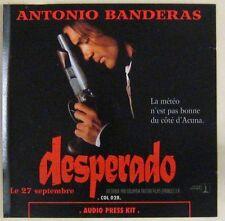 Desperado CD Promo Dossier de presse sonore