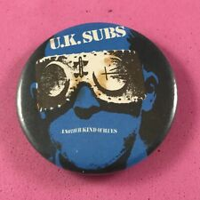 More details for note condition uk subs another kind of blues pin badge punk rock band