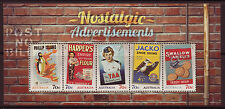 AUSTRALIA 2014 NOSTALGIC ADVERTISEMENTS UNMOUNTED MINT MINIATURE SHEET