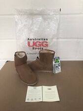 WOMEN'S UGG CLASSIC SHORT BOOTS CHESTNUT SIZE 6 EUR 39 - NEW WITH TAGS (NO BOX)