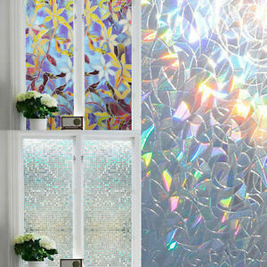 Glass Window Film For Window Privacy Adhesive Glass Stickers Home Bedroom Decor
