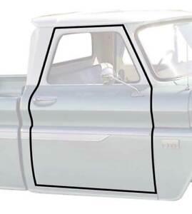 OER K8097 1960-1966 Chevrolet/GMC Pickup Truck Door Frame Weatherstripping Pair