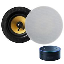 Lithe Audio Amazon Echo Compatible Bluetooth Ceiling Speakers (Pair)