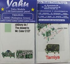 Yahu Models YMA4826 1/48 PE Mitsubishi A6M2 Zero Nakajima green instrument panel