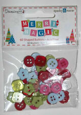 "Dovecraft ""Merry Magic"" mini pulsanti"