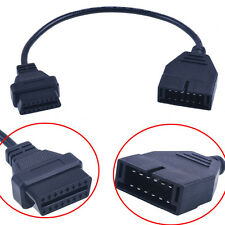 For GM 12 Pin OBD1 To 16 Pin OBD2 Convertor Adapter Cable For Diagnostic Scanner
