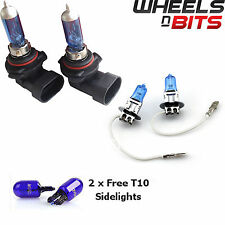2x HB4 & H3 55w HALOGEN HID XENON GAS FILLED BULBS upto 50% BRIGHTER Cool Blue