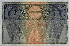 Österreich / Austria 1.000 Kronen 1902 (1919) 2. Auflage Pick 61 (1)
