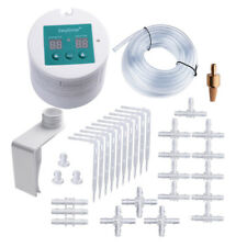 DIY Micro Drip Irrigation Kit Programmable Watering Timer USB Power Operation