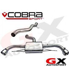 AU60 Cobra Audi TT MK2 3.2 v6 4wd quattro 07-11 CAT SYSTÈME ARRIÈRE non résonné
