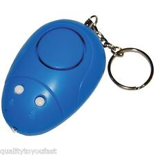 Keychain Alarm with Light  for Personal Security Protection