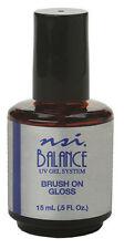 NSI Balance UV Gel Brush On Gloss 1/2 Oz - 7783