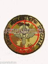 Patch GIS Sniper Carabinieri Gruppo Intervento Speciale Toppa Mimetica Vegetata