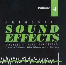 VARIOUS ARTISTS - AUTHENTIC SOUND EFFECTS, VOL. 4 (NEW CD)
