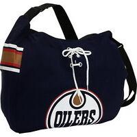 NEW! NHL Edmonton Oilers Jersey Tote Bag