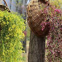 Künstliche gefälschte Seidenblume Rebe Hängepflanze Home Garden Decor DE