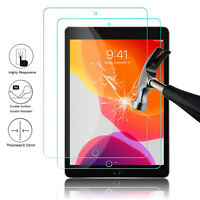 2Pcs For iPad 7th Generation 10.2'' Tablet Tempered Glass Screen Protector Cover