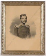 "Charles Backofen (ca.1801-aft.1860) ""Portrait of a German military officer"""