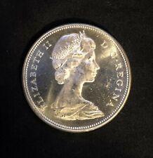 1967 Canada Silver $1 Dollar AU-UNC Coin 1867-1967 Goose