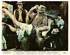 MCLINTOCK ORIGINAL BRITISH LOBBY CARD JOHN WAYNE SPANKING MAUREEN O'HARA