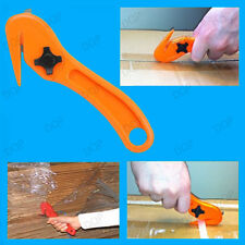2x Safety Knives Pallet Shrink Wrap Film Slitter, Strap Slicer Box Cutter Opener