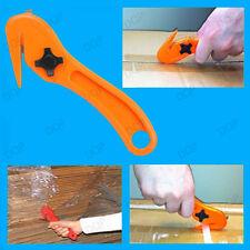 Sécurité de 2x Couteaux à palettes Shrink Wrap Film Refendeuses Bracelet, Coupe Cutter Opener