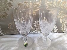 Set of 2 Waterford COLLEEN-SHORT STEM Champagne Flutes. Fantastic Condition