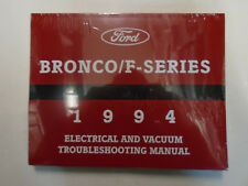 1994 Ford F150 F250 F-250 350 Bronco F SERIES Electrical Wiring Diagrams Manual