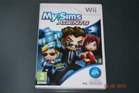 MySims Agents Nintendo Wii UK PAL Game My Sims **FREE UK POSTAGE**