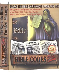 Bible Codes Plus software. Past,Present, Future can be decoded by you. Download!