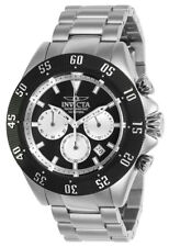 Invicta Speedway 22396 Men's Black Round Chronograph Date Analog Watch