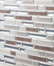 5 Sheets Anti Mold Peel Self Adhesive 3D Stick Backsplash Bathroom Wall Tile New