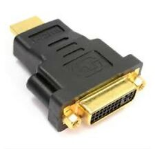 DVI-I Female to HDMI Male Adapter Converter Connector.                       A22
