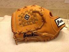 "Very Rare Franklin 9512L 12"" Pro Baseball Softball Glove Left Handed-Throwing"