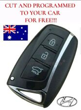 Complete New Hyundai Santa Fe Smart Proximity Key CUT AND PROGRAMMED FOR FREE!!!