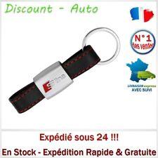 Porte Clés Chaîne Cuir Voiture Logo S line Auto Audi A3 A4 A5 A6 A7 A8 TT R8