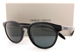Brand New GIORGIO ARMANI Sunglasses AR 8115 500187 Black/Grey For  Men