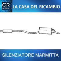 Marmitta Silenziatore Posteriore Fiat Punto(176_) 55 1.1 93'-99'
