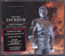 Michael Jackson Coffret HISTORY Double Album CD Box Set Disc USA 1995