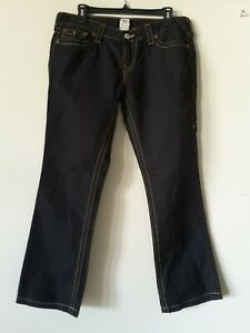 True Religion World Tour Billy Denim Jeans. Size 31. Black. Made in USA