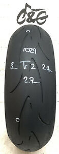 Continental ContiRace Attack 180/55zr17 73w   Part Worn Motorcycle Tyre 1029