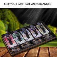 Contanti Cassetto Porta Soldi Registratore Cassa Rendiresto 5 Bill 4 Coin Trays