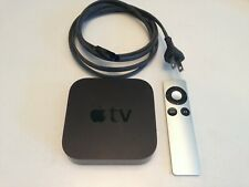 Apple TV (2nd Generation) A1378 With Genuine Remote And Power Cable