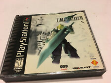 FINAL FANTASY VII 7 PLAYSTATION PS1 GAME ORIGINAL AUTHENTIC RARE OOP MISPRINT