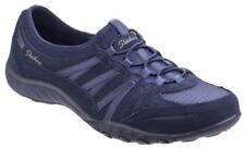 Zapatos planos de mujer de color principal azul ante talla 37