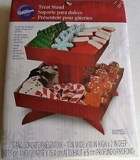 "Wilton CHRISTMAS TREAT STAND 11"" Wide x 10"" High x 2""Deep"